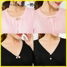 MG 胸針別針胸花氣質仿珍珠胸針女防走光外套別針開衫簡約配飾品套裝組合