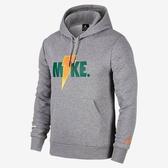 ISNEAKERS NIKE Jordan Sportswear Like Mike 開特力 LOGO連帽T恤 AJ1174-091 灰色 秋冬