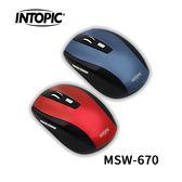 INTOPIC 廣鼎 MSW-670 2.4GHz 飛碟無線光學鼠