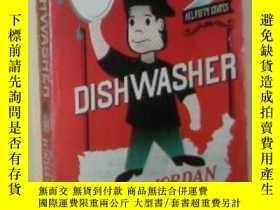 二手書博民逛書店英語原版小說《罕見Dishwasher: One Man s