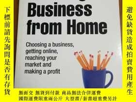 二手書博民逛書店Starting罕見a Business from Home: