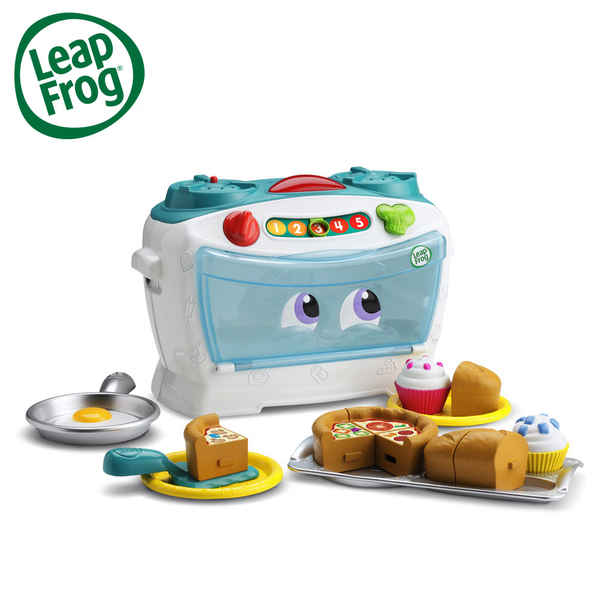 LeapFrog 美國跳跳蛙 歡樂小廚師烤箱組 / 兒童學習玩具 / 早教玩具 (適合2歲以上)