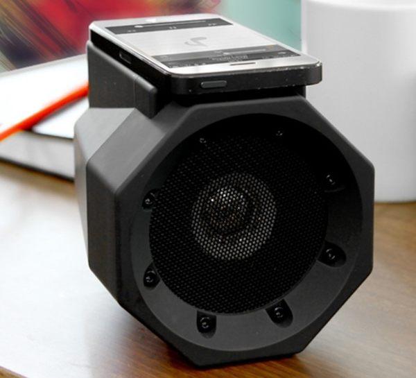 獅子吼BOOMBOX創意1秒擴音無線共震音箱 不需要藍芽連接1秒實現擴大機 重低音喇叭