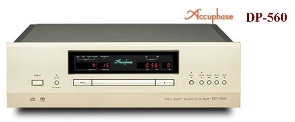 《名展影音》頂級旗艦 ~日本金嗓子Accuphase DP-560 MDS SA-CD播放機 公司貨