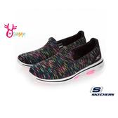 Skechers 2019最新健走鞋 GOWALK 5 成人女款 曾之喬代言 運動鞋 S8234#黑色◆OSOME奧森鞋業