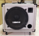 二手品出清 RINGO 160W鍵盤/吉他音箱-附輪子.功能正常-限自取