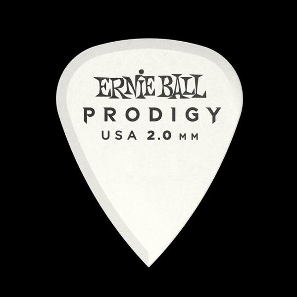 ☆唐尼樂器︵☆ Ernie Ball 9202 Prodigy Standard 2.00mm 白色 吉他彈片 Pick