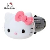 日本限定 三麗鷗 HELLO KITTY 凱蒂貓 大臉 汽車用插充 USB充電器