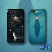 簡約小米軟殼手機殼全包9/9se/cc9/8清新文藝鯨魚【英賽德3C數碼館】