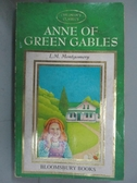 【書寶二手書T1/原文小說_NMT】Anne of Green Gables_L.M. Montgomery.