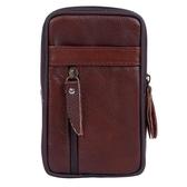 手機腰包男掛扣包穿皮帶6寸腰掛包多功能豎款5.5寸手機包 降價兩天