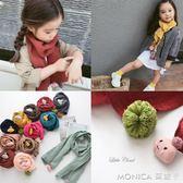 童裝兒童圍巾春秋新款韓版可愛小云朵女童圍脖寶寶公主圍巾   莫妮卡小屋