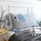 靠枕  INS卡通方靠背床頭靠墊簡約卡通風內含獨立枕芯可拆洗YYP 『歐韓流行館』