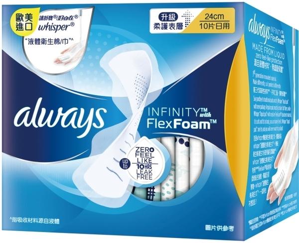 好自在INFINITY液體衛生棉日用24cm 10片