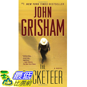 [104美國直購] 美國暢銷書排行榜 The Racketeer: A Novel Mass Market Paperback
