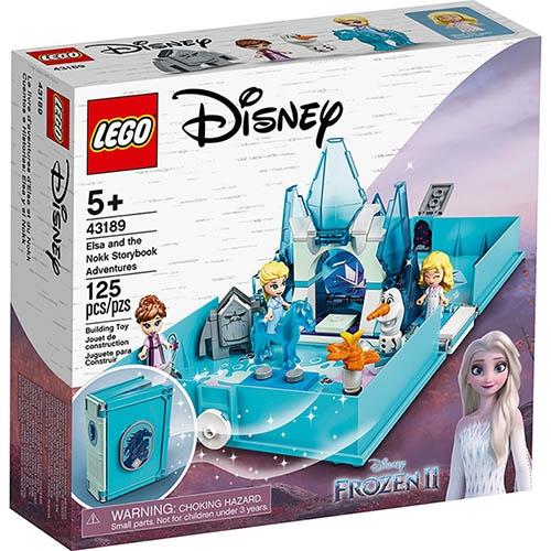 樂高積木 LEGO《 LT43189 》迪士尼公主系列 - 艾莎與水靈諾克的口袋故事書 / JOYBUS玩具百貨