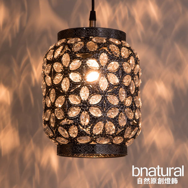 bnatural 青古銅花瓣紋吊燈(BNL00071)