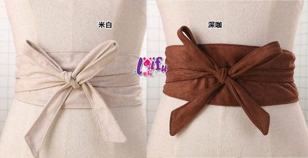 得來福腰封,H718腰封絨布蝴蝶結寬腰帶腰封腰帶寬腰封正品,售價350元
