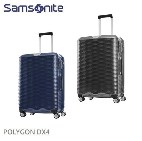 Samsonite 新秀麗 22吋行李箱 POLYGON DX4 創新2:8比例箱體 Hinomoto煞車雙軌輪