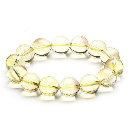 頂級黃水晶手鏈