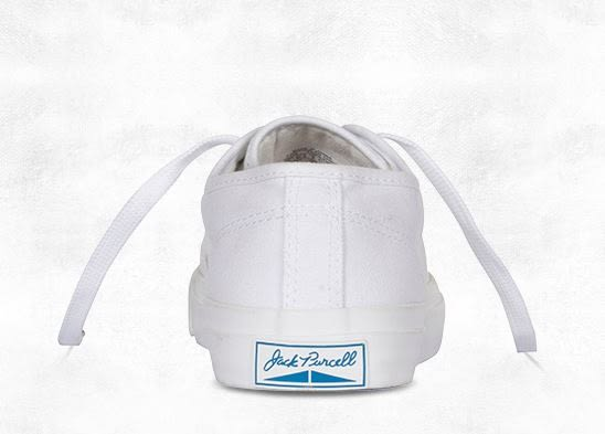 CONVERSE JACK PURCELL 白色 基本款 開口笑 帆布鞋 NO.1Q698