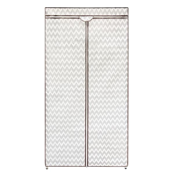 【不含鐵力士架】巧易收樂活衣櫥套(約90x45x180cm)鐵力士架衣櫃套/防塵套/防塵布/防塵罩/AS7128