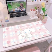 學習桌墊子寫字墊防滑卡通可愛ins風少女可定制書桌墊兒童墊 璐璐