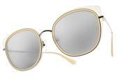 PAUL HUEMAN 太陽眼鏡 PHS1117A 16 (白銀-白水銀灰鏡片) 韓系繽紛色貓眼款 墨鏡 # 金橘眼鏡