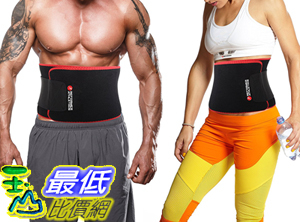[106美國直購] 縮腰用腰帶 Waist Trimmer Ab Belt for Faster Weight Loss. Includes FREE Fully Adjustable