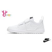 NIKE PICO 5 (PSV) 中童 小白鞋 魔鬼氈穿搭板鞋 休閒運動鞋 P7162#白色◆OSOME奧森鞋業