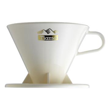 金時代書香咖啡  TIAMO燙金V01咖啡濾杯 1-2人 HG5015