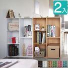 置物櫃 五格櫃  收納櫃 書櫃【Q0144】 漾采粉嫩五格空櫃2入 收納專科