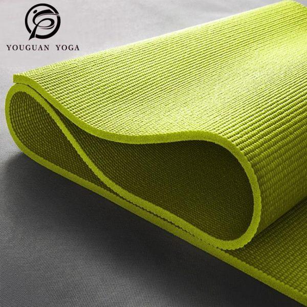 瑜伽墊 初學者專用防滑瑜伽墊加厚瑜珈墊加寬愈加墊健身墊瑜伽毯運動墊子 全館免運
