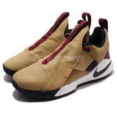 Nike 籃球鞋 Ambassador XI 米白 紅 酒紅 魔鬼氈 男鞋 大使 11代 運動鞋【PUMP306】 AO2920-200