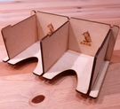 【桌遊菜鳥】可堆疊雙格牌架(單格 7.5cm x 9cm) 中壢可樂農莊