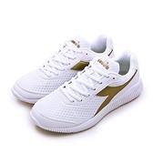 LIKA夢 DIADORA 迪亞多那 厚底輕量慢跑鞋 EAGLE 3系列 白金 175622-C1070 女