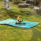 野餐墊 戶外防潮墊 加厚雙人露營帳篷墊沙灘墊子防水隔潮便攜地墊【創世紀生活館】