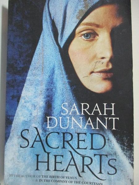 【書寶二手書T4/原文小說_EFR】Sacred Hearts_Sarah Dunant