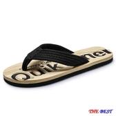 【伊人閣】拖鞋男 拖鞋 防滑 夾腳 人字拖 時尚外穿 個性 沙灘鞋
