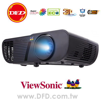 ViewSonic 優派 PJD5255 XGA 效能光艦商用投影機 3300流明 公司貨 支援HDMI 送高級HDMI線