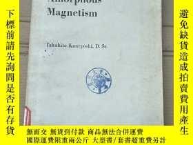 二手書博民逛書店amorphous罕見magnetism(P2183)Y173412