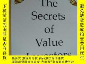 二手書博民逛書店THE罕見SECRETS OF VALUE INVESTORS 英文24開Y85718 DARRELL CHA