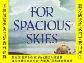 二手書博民逛書店For罕見Spacious Skies: A Sketchbook of American WeatherY3