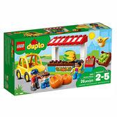 樂高積木 LEGO《 LT10867 》2018 年 Duplo 幼兒系列 - 農夫市場 ╭★ JOYBUS玩具百貨
