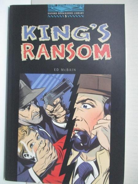 【書寶二手書T5/原文小說_IJ3】King s ransom_Ed McBain; retold from the original novel by Rosalie Kerr