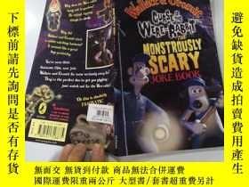 二手書博民逛書店the罕見monstrously scaey joke book 可怕的騙人笑話書Y200392