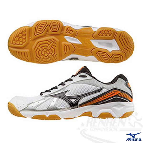 MIZUNO 美津濃 CYLONE POWER  排球鞋  (白*銀)