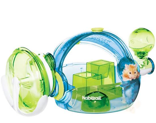 PetLand寵物樂園《Hagen赫根》OVO寵物鼠誕生系列鼠籠 NO.62663 / Habitrail男孩房