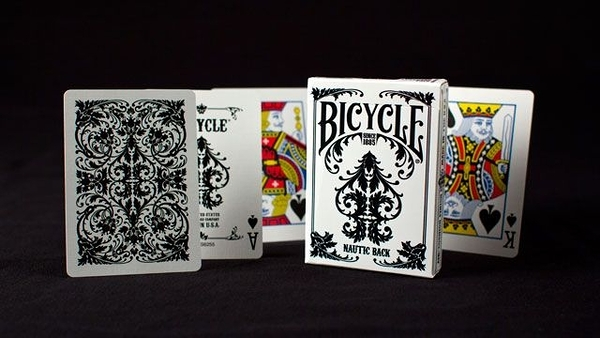 【USPCC 撲克】撲克牌 BICYCLE Nautic white黑