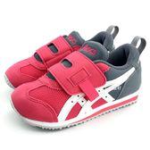 《7+1童鞋》中童 ASICS SUKU IDAHO MINI KT-ES 亞瑟士運動鞋 輕量 機能鞋 5159 紅色
